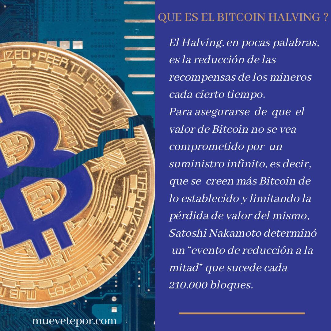 Qué Es Un Bitcoin Halving Criptomoneda Libros Contables Personas En El Mundo
