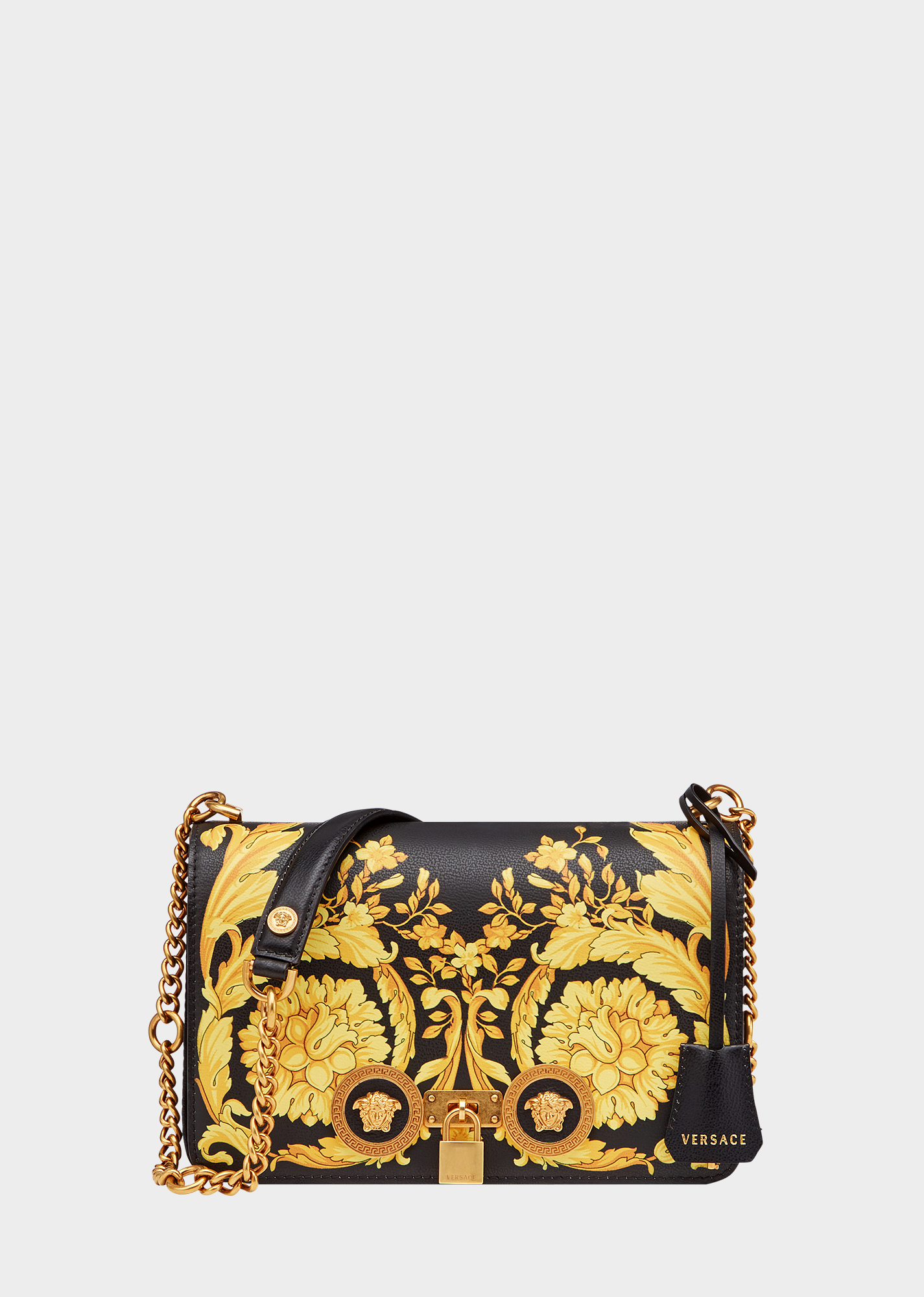 a0da8709c2 Medium Barocco Icon Shoulder Bag | Luxury Bags & Luggage | Versace ...