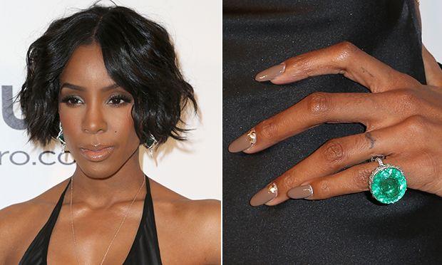 Unha decorada linda da Kelly Rowland #nails #nailart #celebridade #beleza