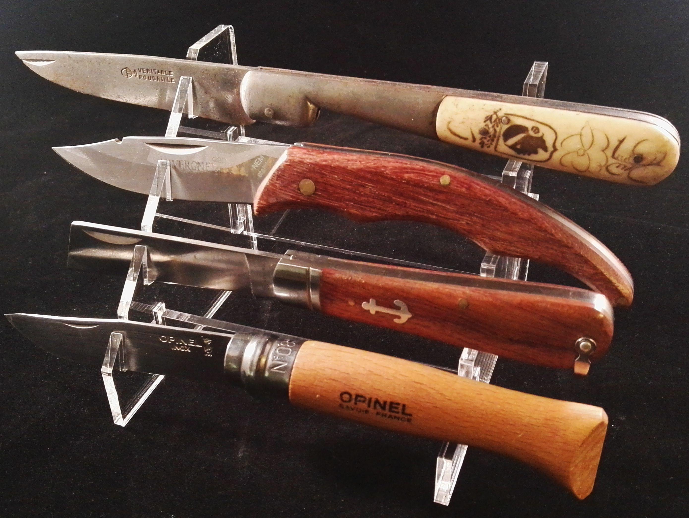Presentoir Plexi Pour 4 Couteaux Presentoir Couteau Creations