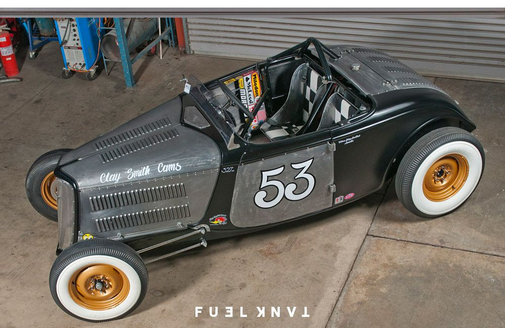Hot Rod Spud S Race Inspired 1934 Ford Roadster Fuel Tank Ford Roadster Hot Rods Roadsters