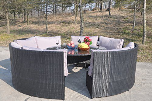 The Rattan Garden Furniture Range Is Made To Be Left Outside All Year Around And The Cushions Are Water Proof And Washable Hand Washing