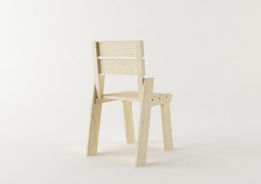 La silla Landa, diseñada por Silvia Ceñal para muebles LUFE, reinterpreta la silla tradicional de madera. www.muebleslufe.com #MueblesLUFE #madera #DIY #ecologico #silla