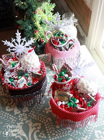 Info's : CUTE gift basket ideas!