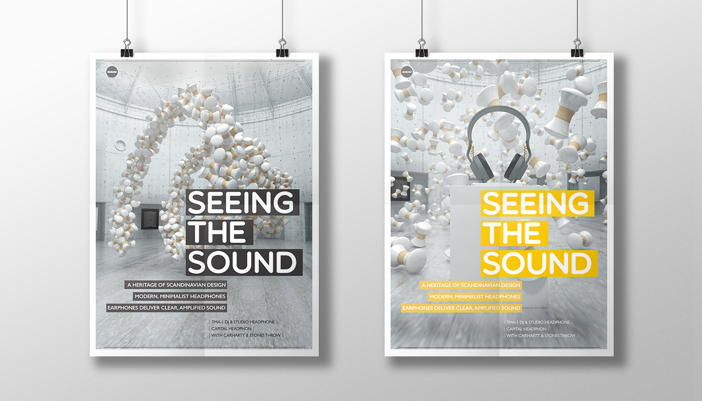Seeing the Sound on Behance