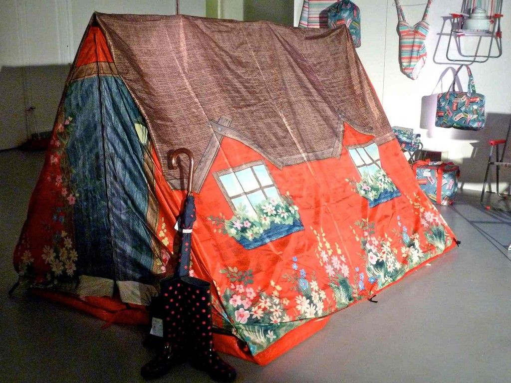 Country cottage tent for the 2013 festival season at Cath Kidston, so cute!