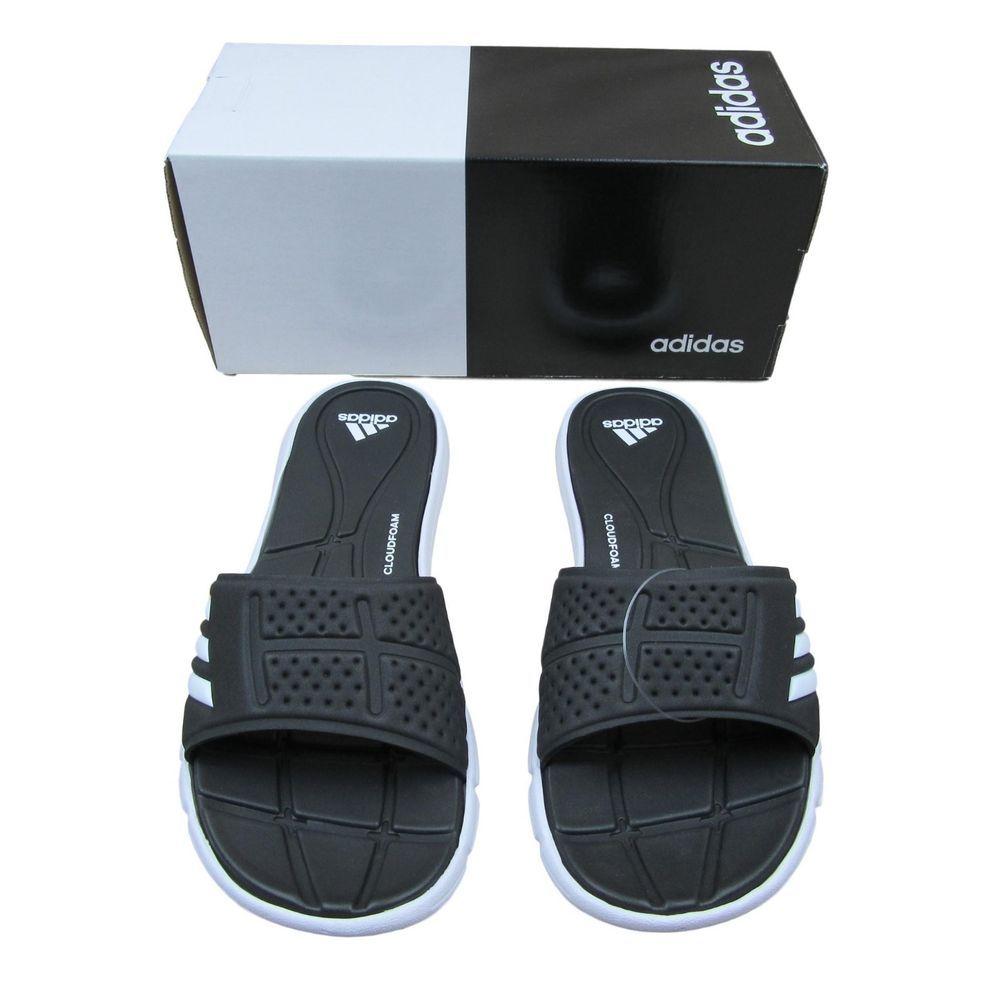 0dbbeb820c27 Adidas Adilette Adipure CF Slippers Sandals Size 9 Womens Soft Black BB4558   adidas  FlatSandals  Casual