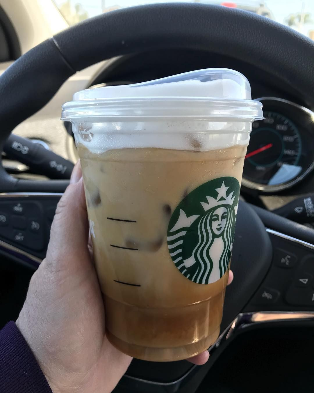 Frothy Foam Is Usually Only An Option For Hot Coffee Drinks Like Lattes And Cappuccin In 2020 Starbucks Coffee Drinks Dairy Free Starbucks Drinks Iced Starbucks Drinks