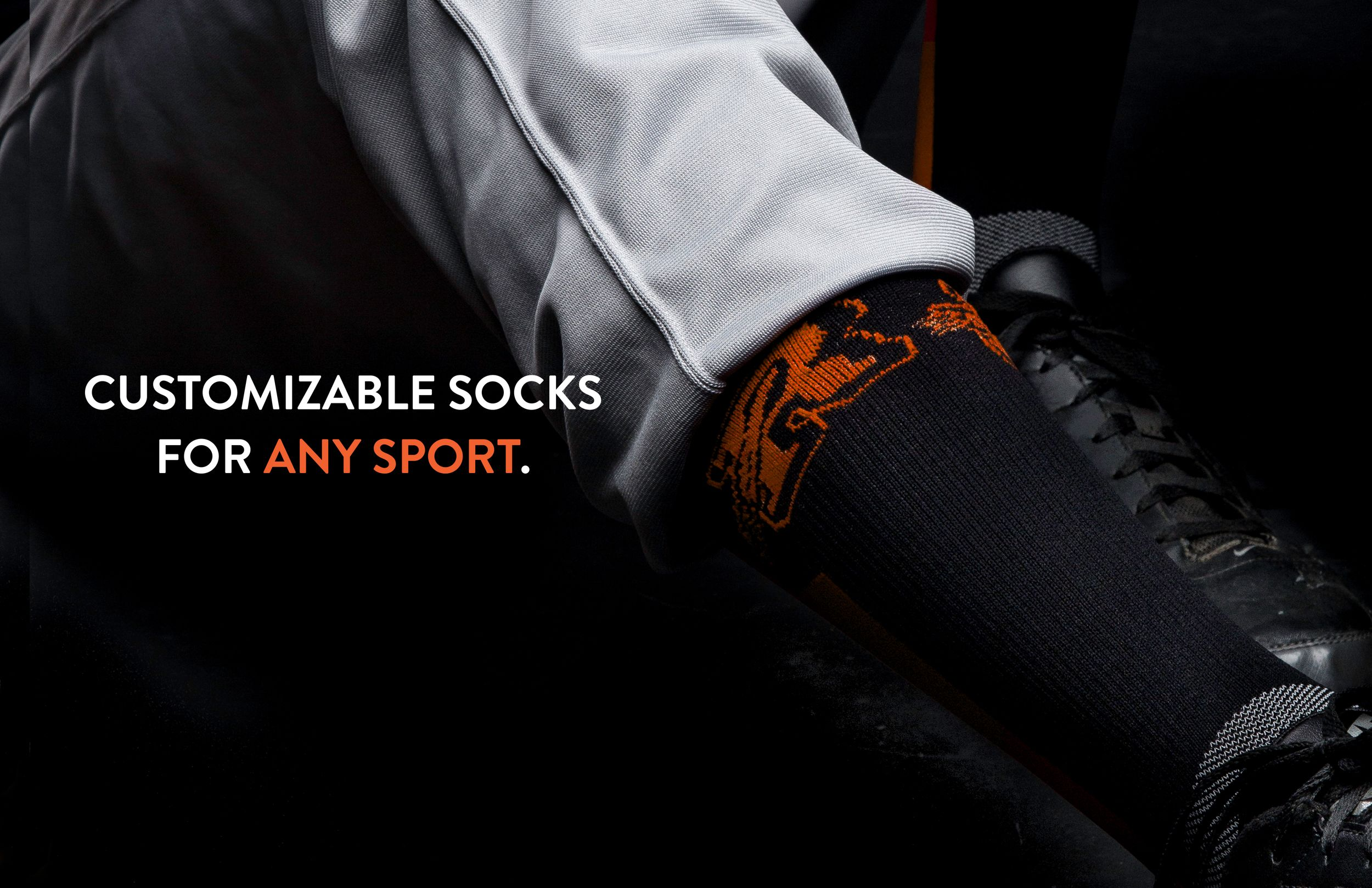 Custom socks are an extremely popular item right now among