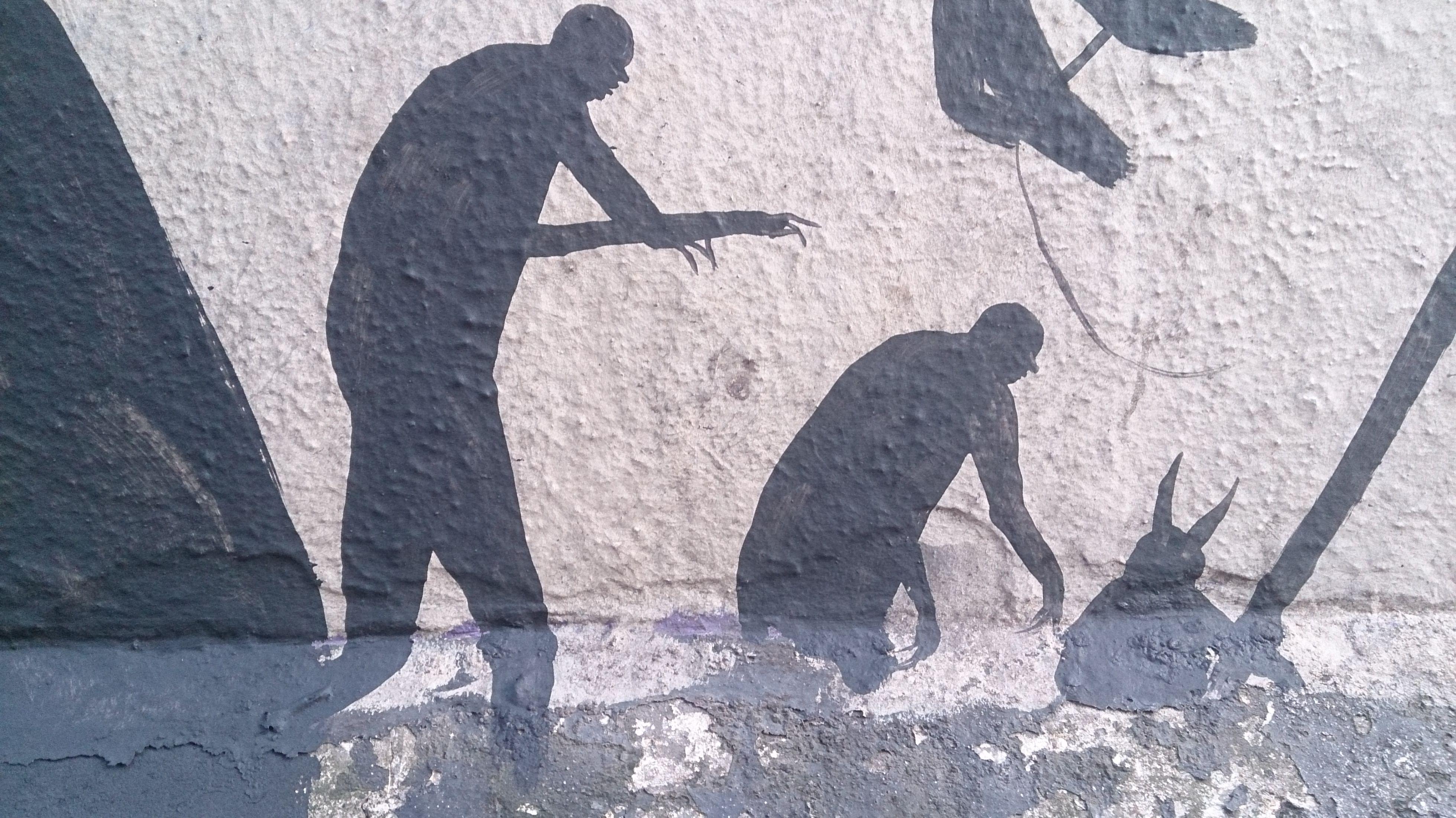 David De La Mano artwork for Empty Walls Festival 2014 Cardiff - detail