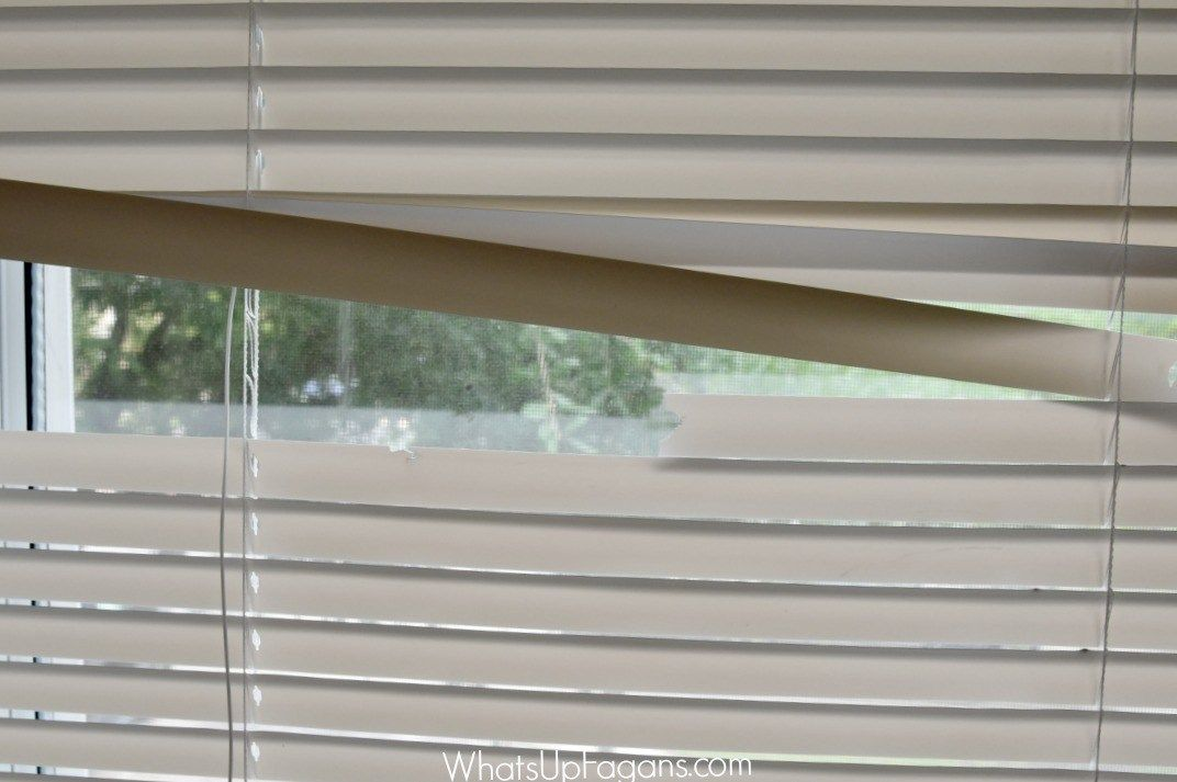How To Fix Mini Blinds.How To Fix The Mini Blinds Your Kids Destroyed House