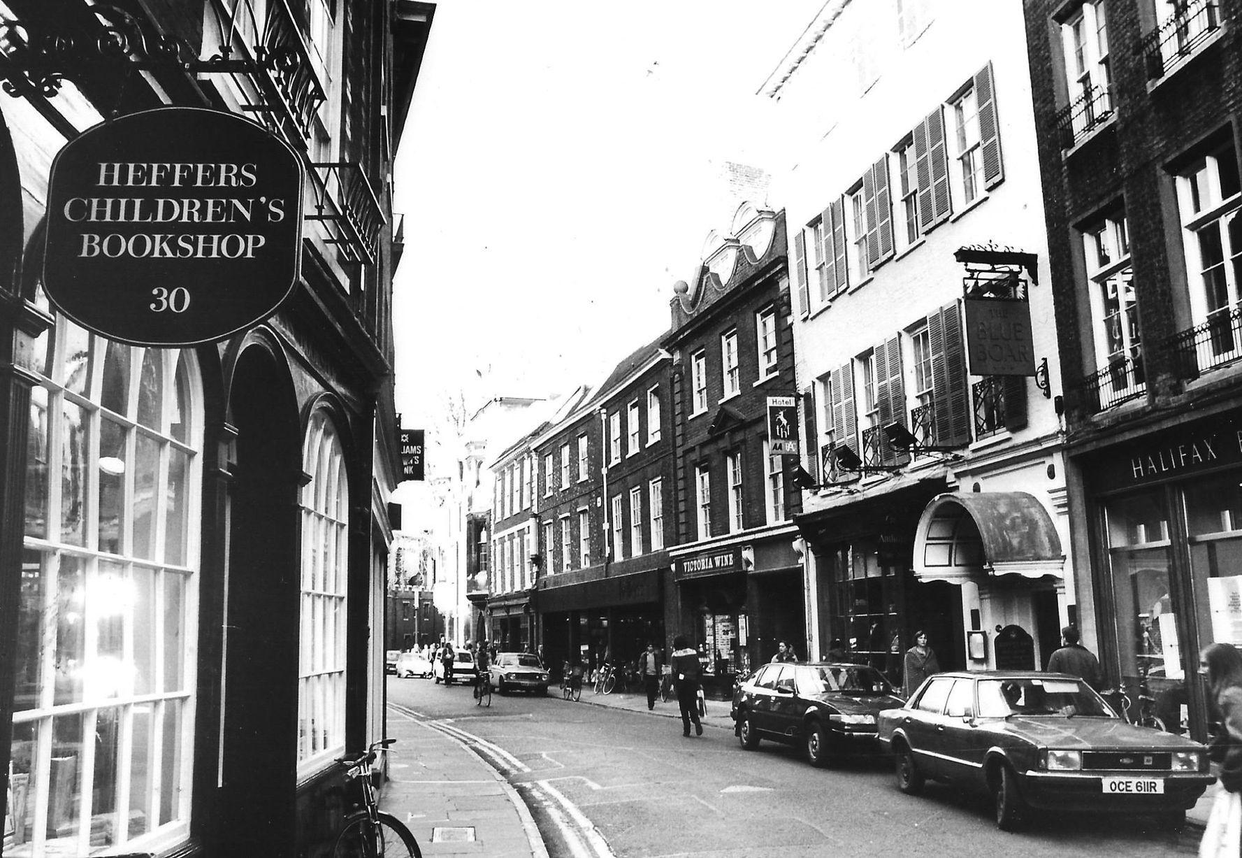 Heffers is still in Trinity Street, Cambridge, but their