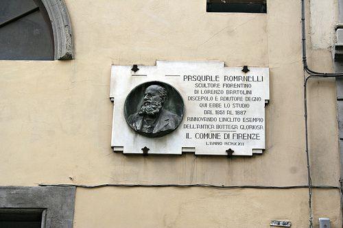 Firenze Studio Romanelli, scultore fiorentino