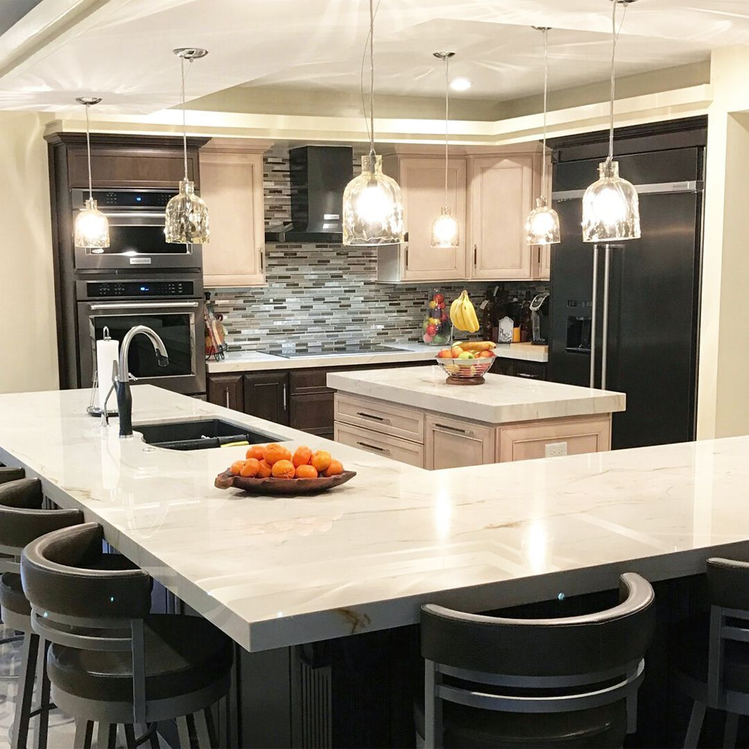 Transform Your Home With A Directbuy Membership Check Out This Beautiful Kitchen Remodel Shared By One Kitchen Remodel Small Kitchen Remodel Updated Kitchen