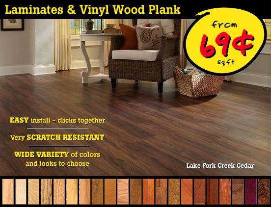 Laminate Floors And Vinyl Wood Plank Flooring On Sale Now Saras