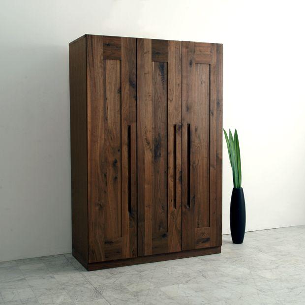Nolsia Rakuten Global Market Closet Clothing Storage Mass Storage House Furniture Eco Specifications Walnut Asia Wood Armoire Wood Wardrobe Furniture Design