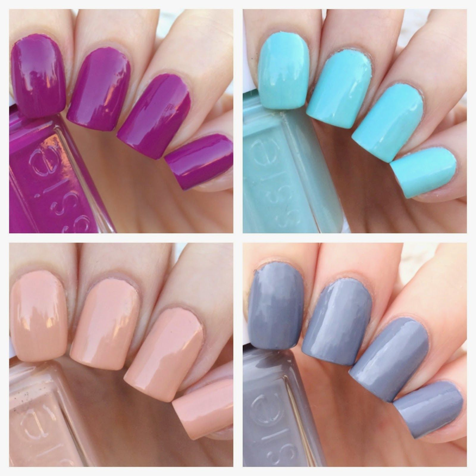 Essie Spring 2015 Mini Collection Swatches + Review