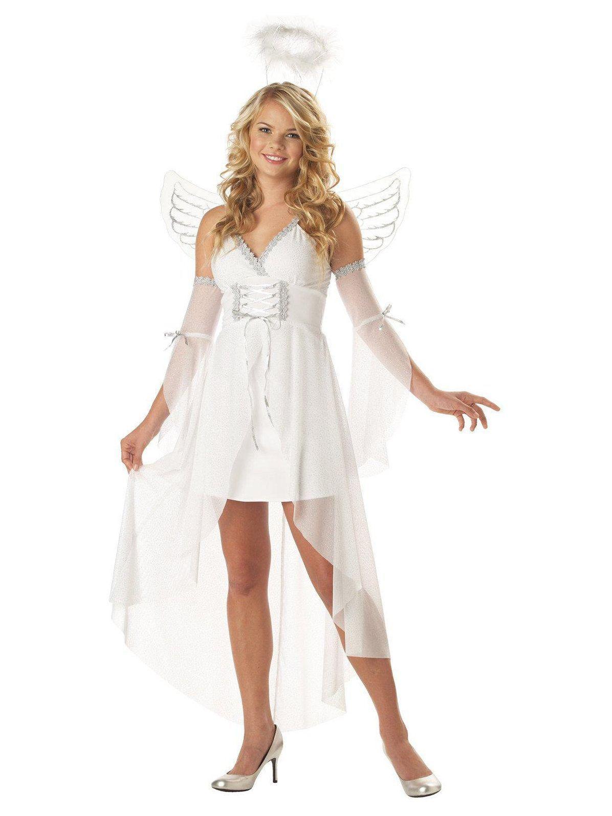 Heavenus Angel Adult Costume  Halloween  Pinterest  Halloween