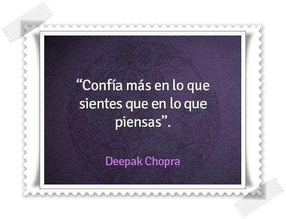 # Confia Mas en lo Que Sientes,que en lo que Piensas #