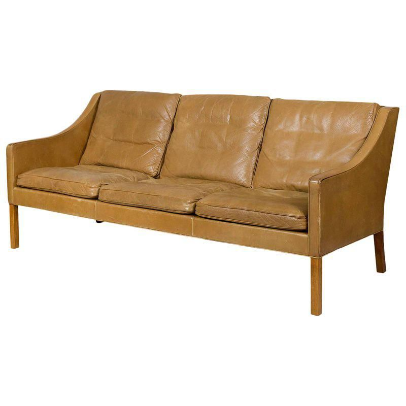 Borge Mogensen Sofa Model 2209 Enchanted Home Pet Bed Canada Three Seat Leather In 2018
