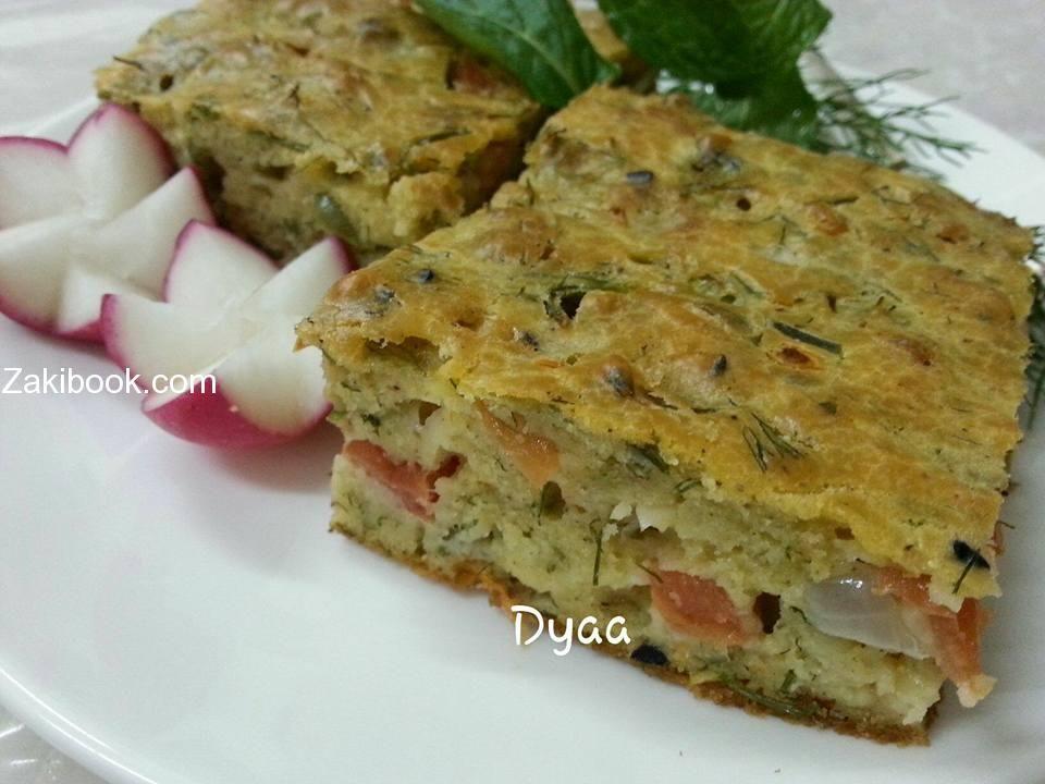 طريقة عمل عجة بالفرن صحية وسهلة زاكي Recipes Food Breakfast