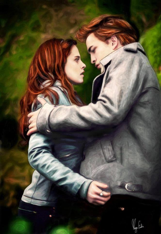 Edward and Bella. Fan Art. | Twilight | Twilight, Twilight ...  Edward and Bell...