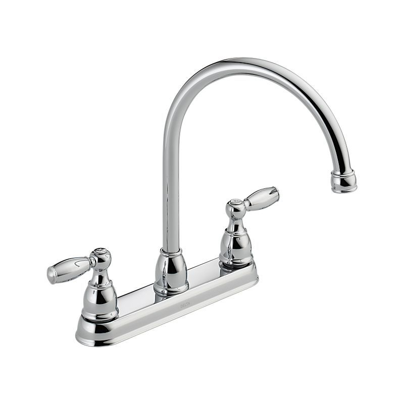 21987lf Foundations Two Handle Kitchen Faucet Kitchen Products