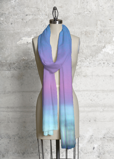 Cashmere Silk Scarf - another purple by VIDA VIDA takbUGs