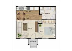 Granny Flats Sunshine Coast 40sqm 430sqft Granny Flat Garage Conversion Granny Flat Granny Flat Plans