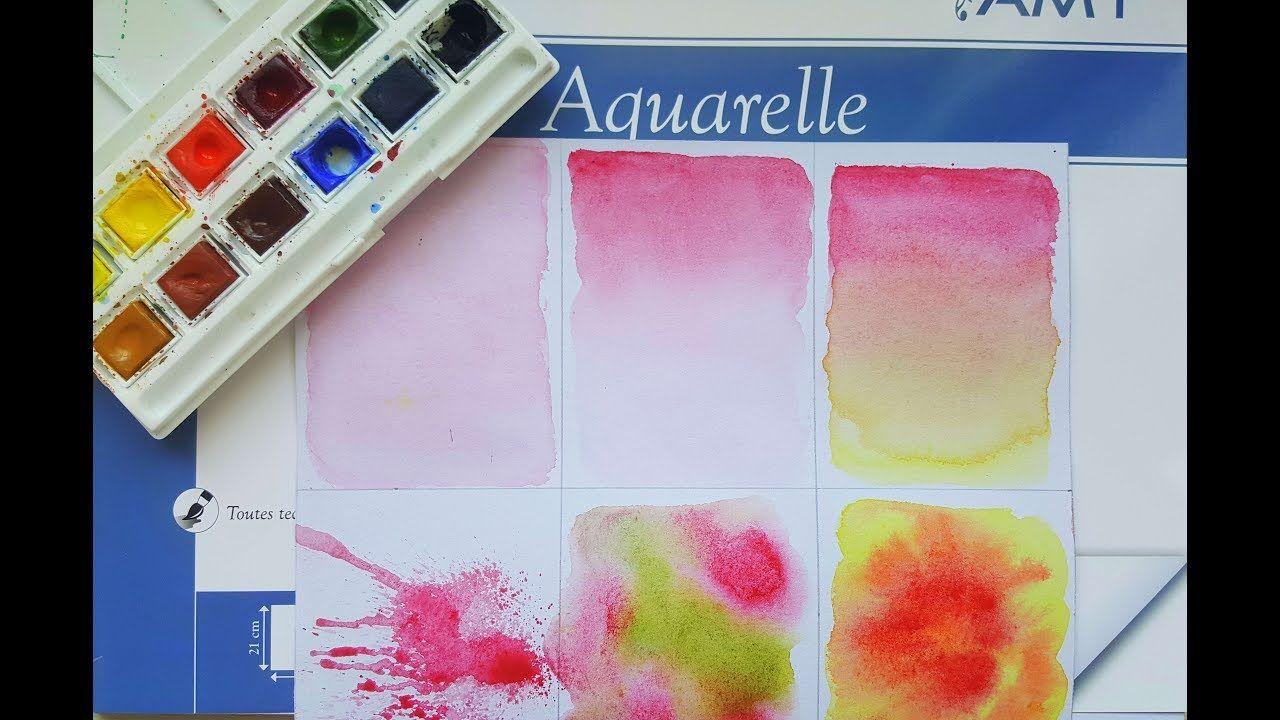 Apprendre Les Techniques De Base A L Aquarelle Aquarelle