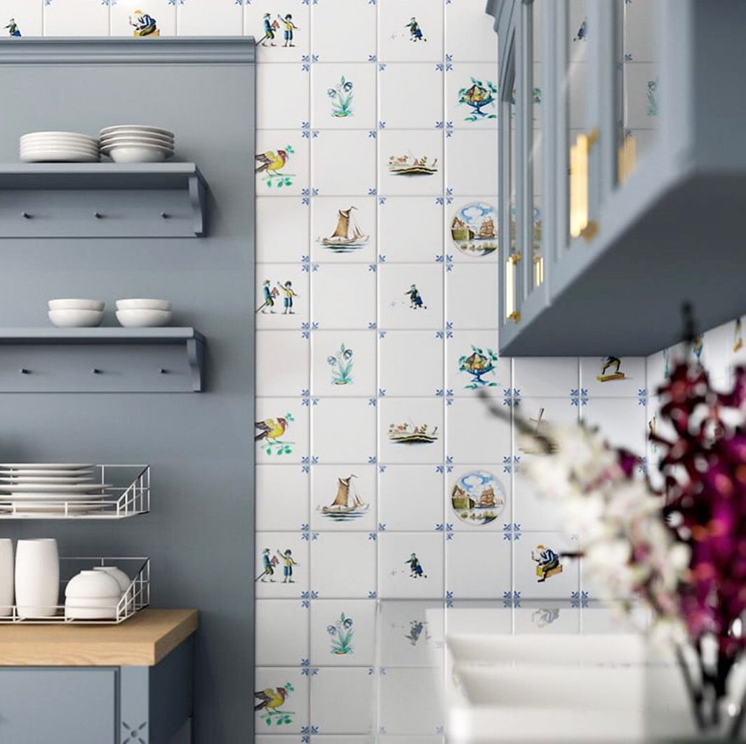 Delft Ceramic Country Floors Of America Llc White Ceramic Tiles Beautiful Tile Ceramic Tiles