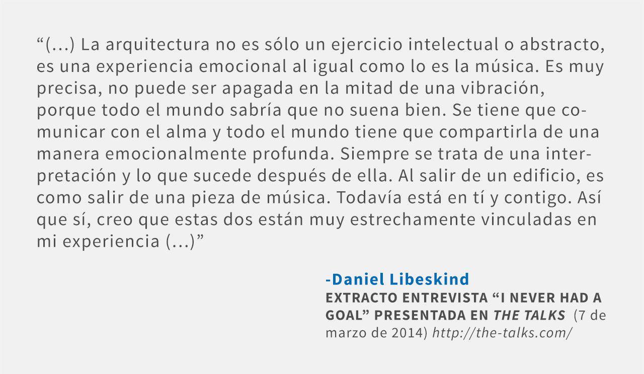 Frases: Daniel Libeskind