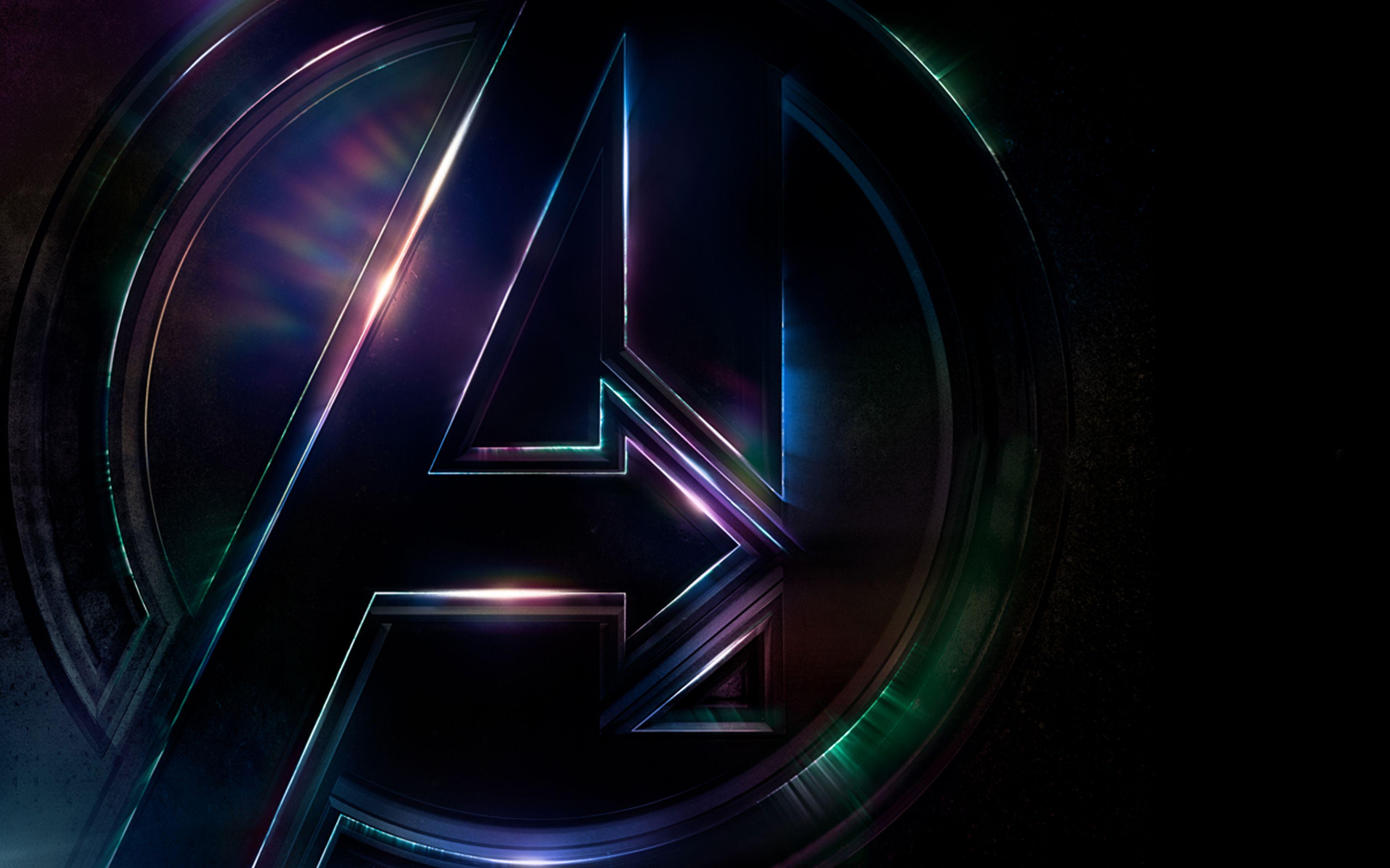 Avengers Infinity War Logo 4K Avengers infinity war