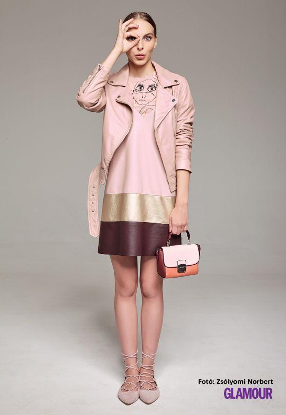 A pasztell őszre jó ötlet. Főleg a pasztell rózsaszín trendi. Pastel for autumn is a good idea. Pastel pink is especially trendy.