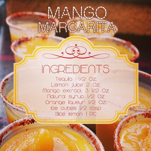 21 Refreshing Redneck Recipes And Camping Food Ideas: Mango Margarita Recipe! Just Because We Love You