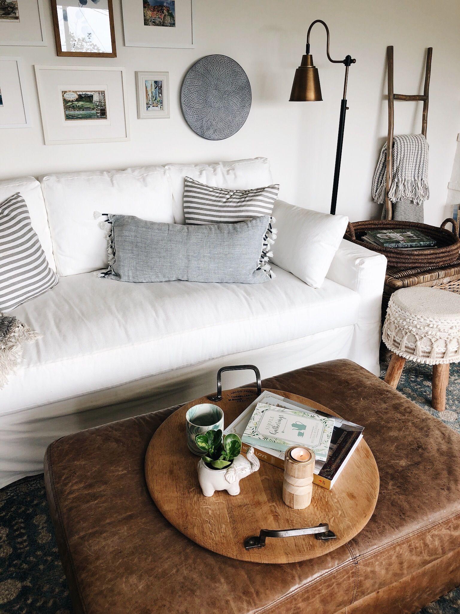 My York Pottery Barn White Slipcovered Sofa FAQ Home