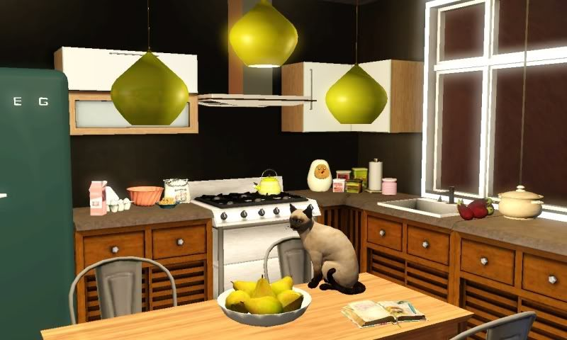 Pin by Angela . on Misc: Sims 3 | Kitchen cabinets, Home ...