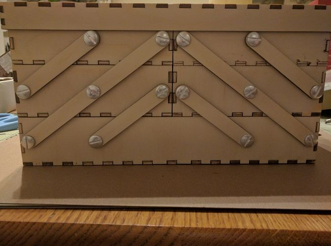 Sewing, craft or shop extending box - Free Laser Designs - Glowforge