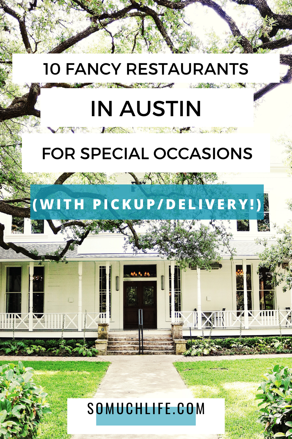 10 Special Occasion Restaurants In Austin With Delivery Takeout So Much Life In 2020 Fancy Restaurants Restaurant Brunch Restaurants