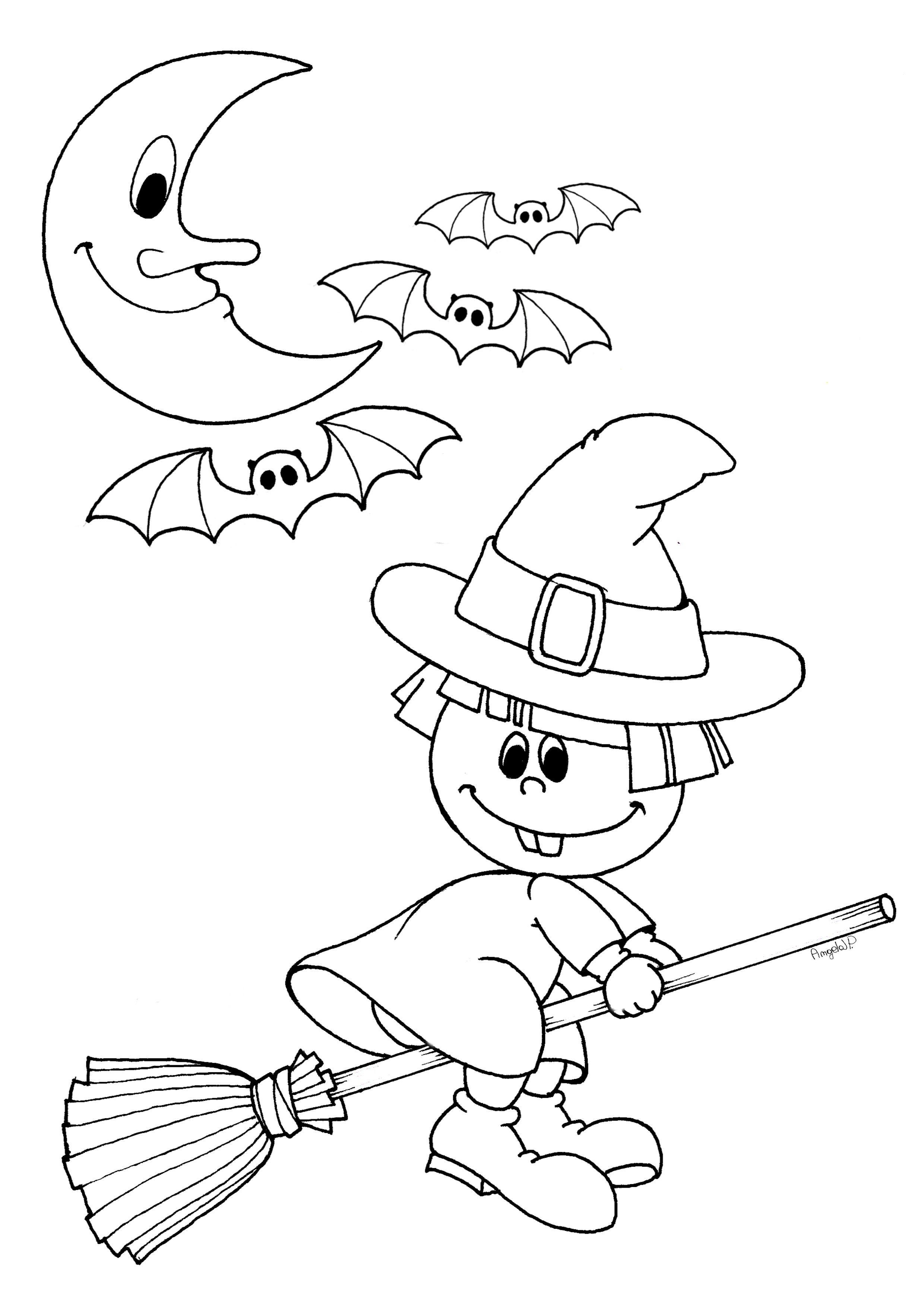 Halloween Disegni Per Bambini Da Stampare Gratis Nuova Disegni Di