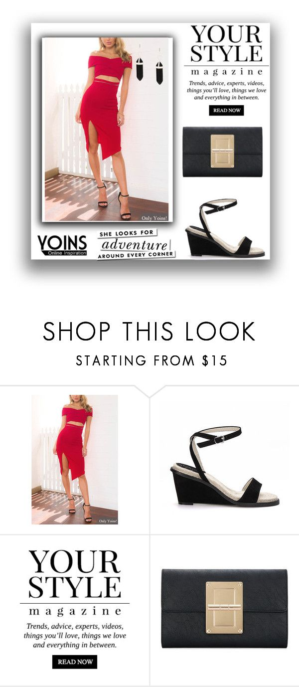 """Yoins 25"" by munira-salihovic ❤ liked on Polyvore featuring Pussycat, Kate Spade, yoins, yoinscollection and loveyoins"