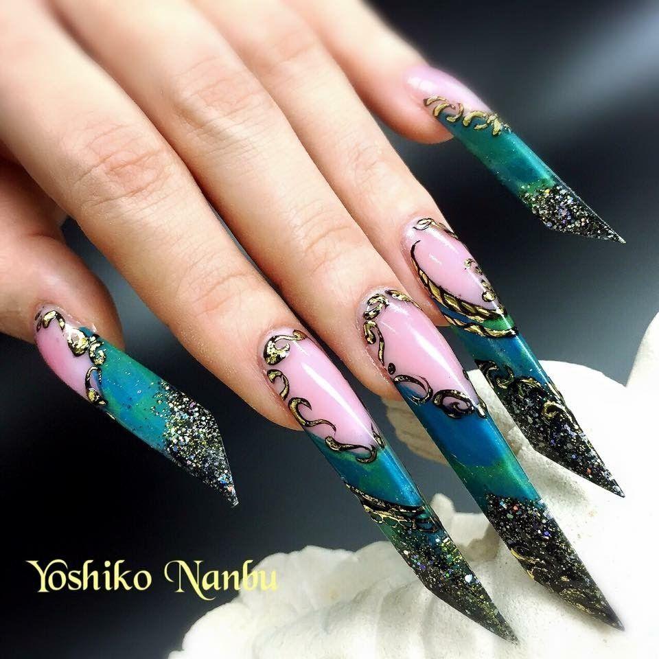 Pin by Lori Davies on Nails | Pinterest | Edge nails, Pedicure nail ...
