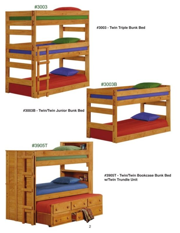 Superieur Pine Crafter Furniture   Tons Of Loft, Trundle, And Drawer Options