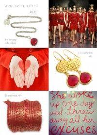 Applepiepieces color: Red