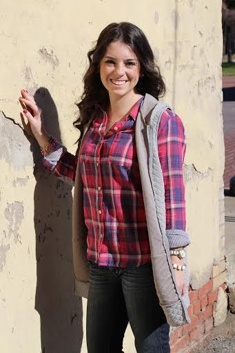"""This Hooded Quilted Vest is 15% off when you use code """"SixSisters"""" at checkout! I love the longer length!"""