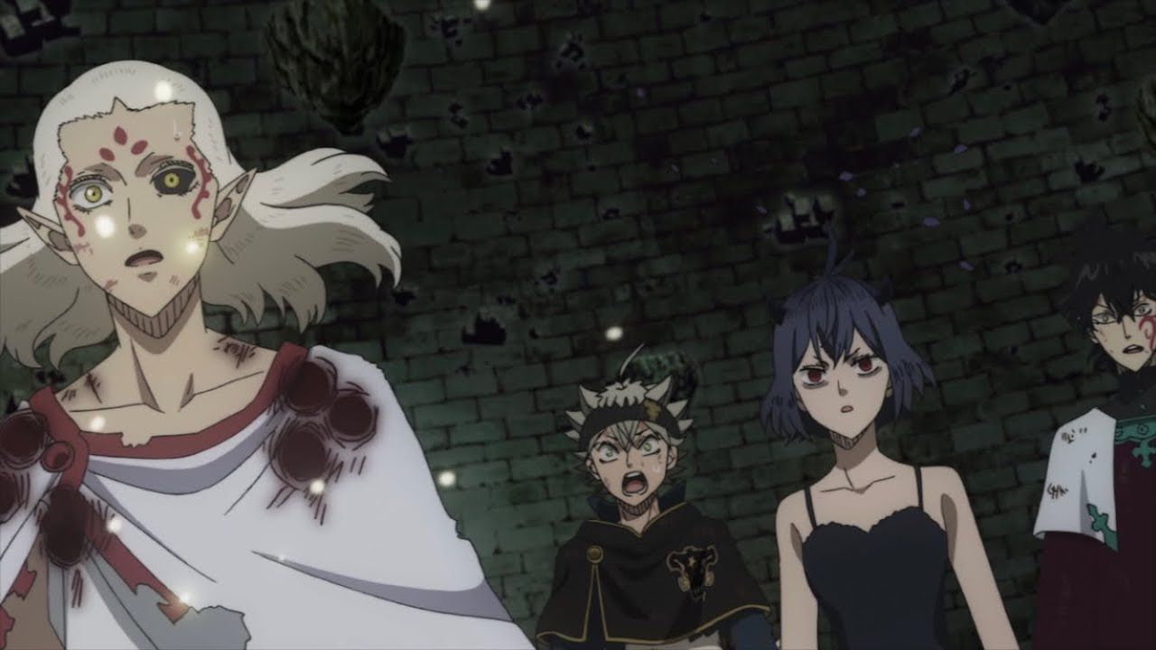 black clover ブラッククローバー episode 118 anime reaction ブラッククローバー クローバー