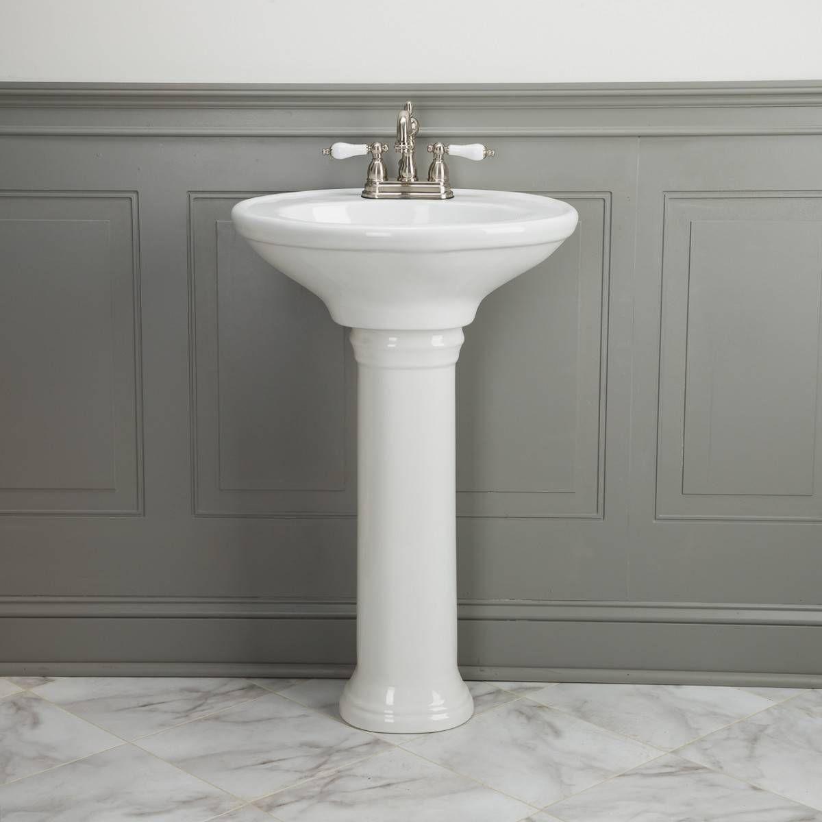 Randolph Morris Petitie 21 Inch Pedestal Sink Pedestal Sink