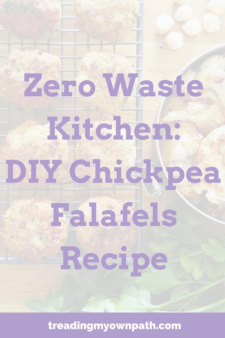 Zero Waste Kitchen: DIY Chickpea Falafels Recipe ...