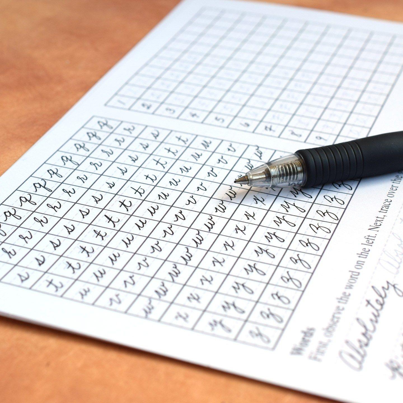Improve Your Cursive Worksheet Set | Pinterest