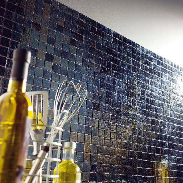Mosaique Autoadhesive Nero 30 X 30 Cm Stone Castorama Carrelage Adhesif Mosaique Adhesive Credence Cuisine